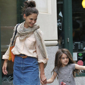 Katie Holmes and Suri Cruise Hold Hands in NYC Pictures