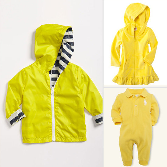 10 Picks For Kids in Yellow, the Hottest Shade of Summer!