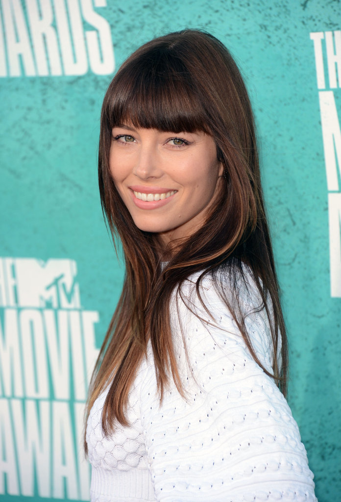Jessica Biel Bangs Out Another Sexy Look For the MTV Movie Awards