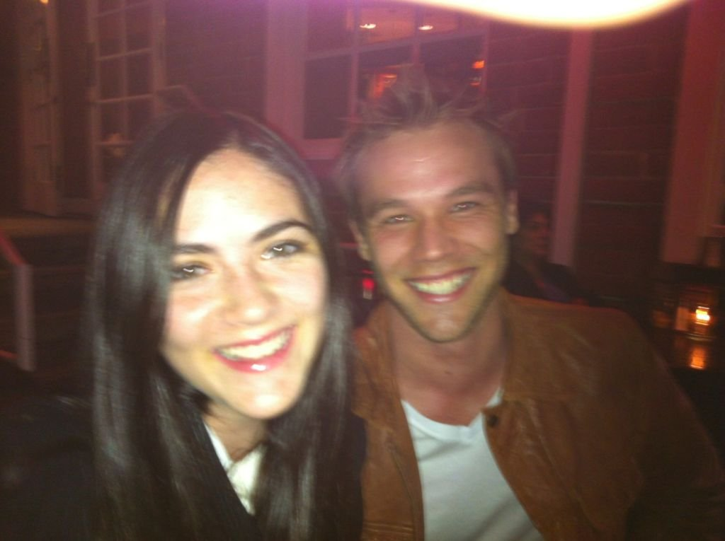 Lincoln Lewis caught up with The Hunger Games actress Isabelle Fuhrman. Source: Twitter user linc_lewis