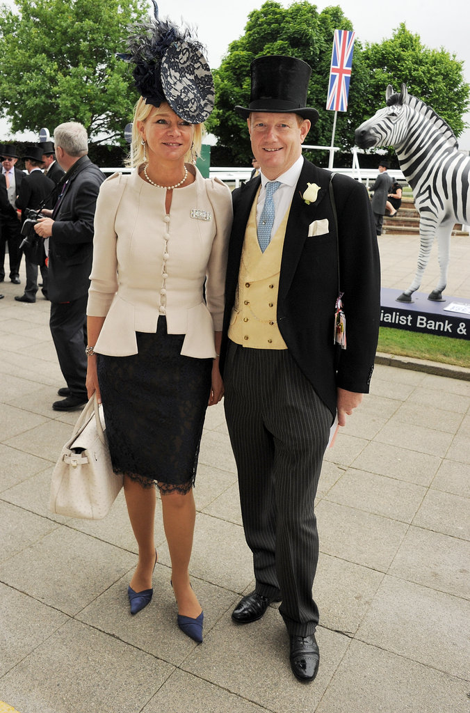 The Countess and Earl of Derby posed at the event.