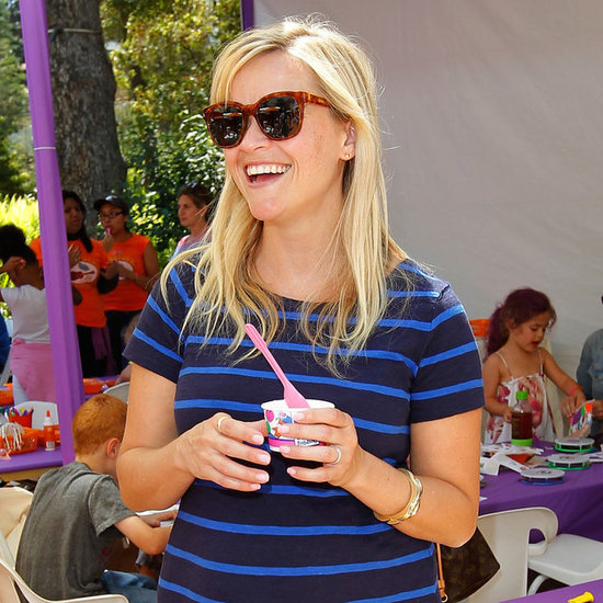Pregnant Reese Witherspoon at Kidstock 2012 Pictures