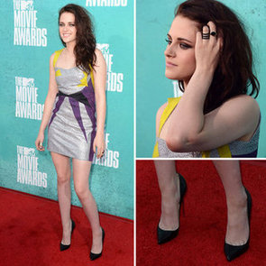 Pictures of Kristen Stewart in GUiSM dress on the red carpet at the 2012 MTV Movie Awards: Rate it?