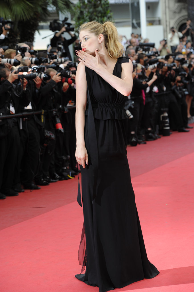 Doutzen Kroes at a screening of La Coquette at the Cannes Film Festival in May 2011.