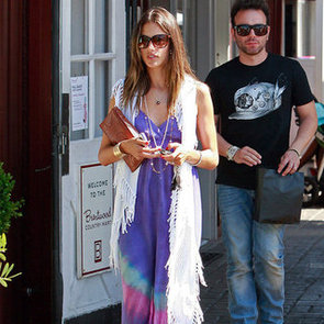 Celebrities in Maxi Dresses