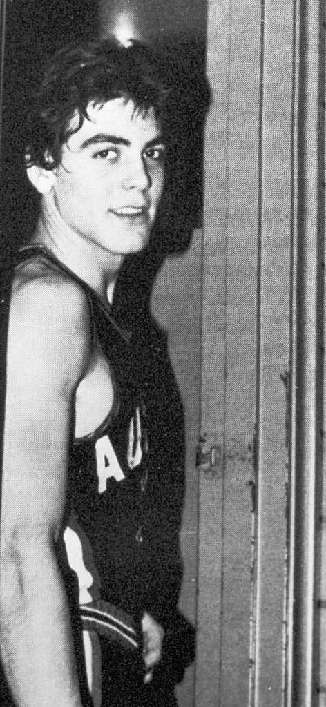 George Clooney was a high school athlete.