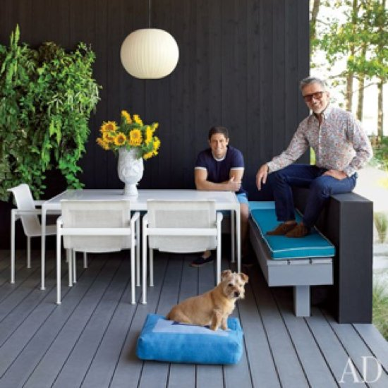 Jonathan Adler and Simon Doonan's Shelter Island Home Pictures