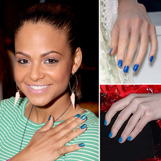 Blue Nail Polish Trend, Summer 2012