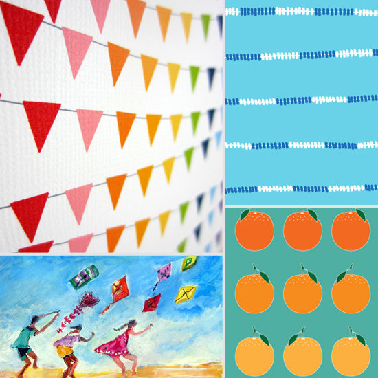 13 Sunny Prints to Brighten Your Kids' Rooms For Summer