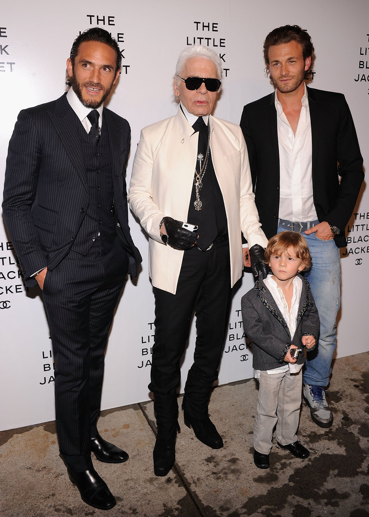 Karl Lagerfeld and Guests