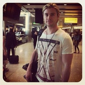 Celebrity Twitter Pictures of Chris Hemsworth, Lara Bingle, Jennifer Hawkins and Nicole Richie