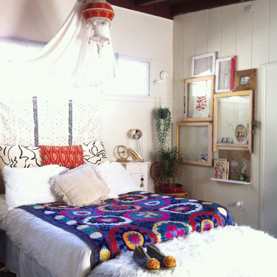Bohemian Bedroom Inspiration Pictures