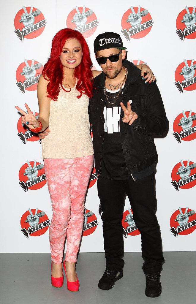 Sarah De Bono and Joel Madden