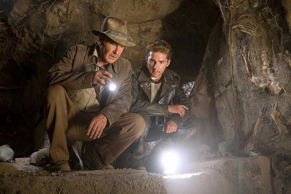 Harrison Ford in Indiana Jones and the Kingdom of the Crystal Skull