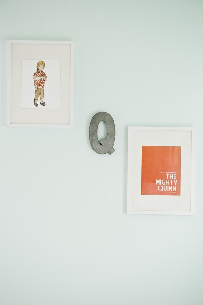 A Staggered Gallery Wall