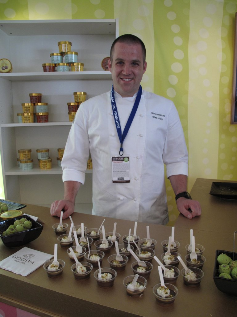 Best New Pastry Chef Chris Ford