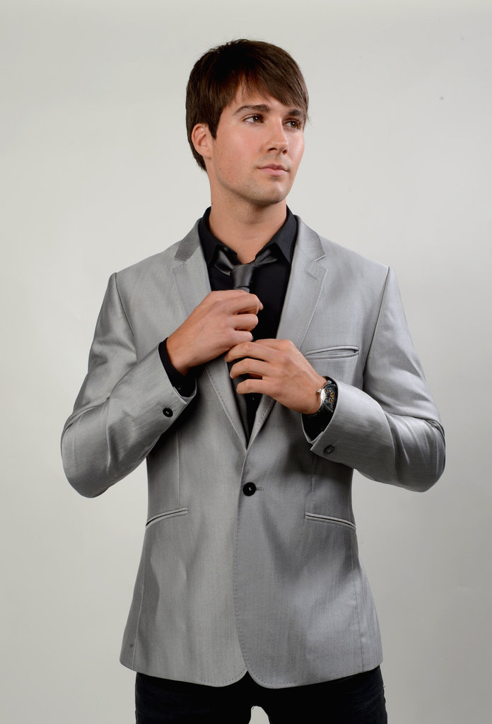 James Maslow posed for a photo backstage at the Young Hollywood awards.