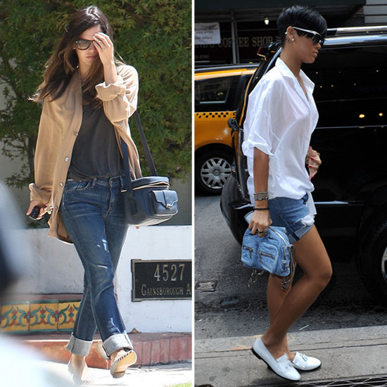 We're obsessed with these celebs' awesome camera bags. Snag one of your own.