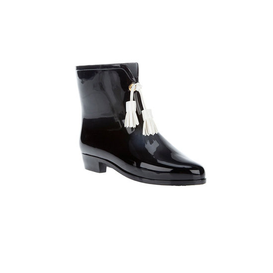 Gumboots, approx $150, Melissa + Vivienne Westwood at Far Fetch.