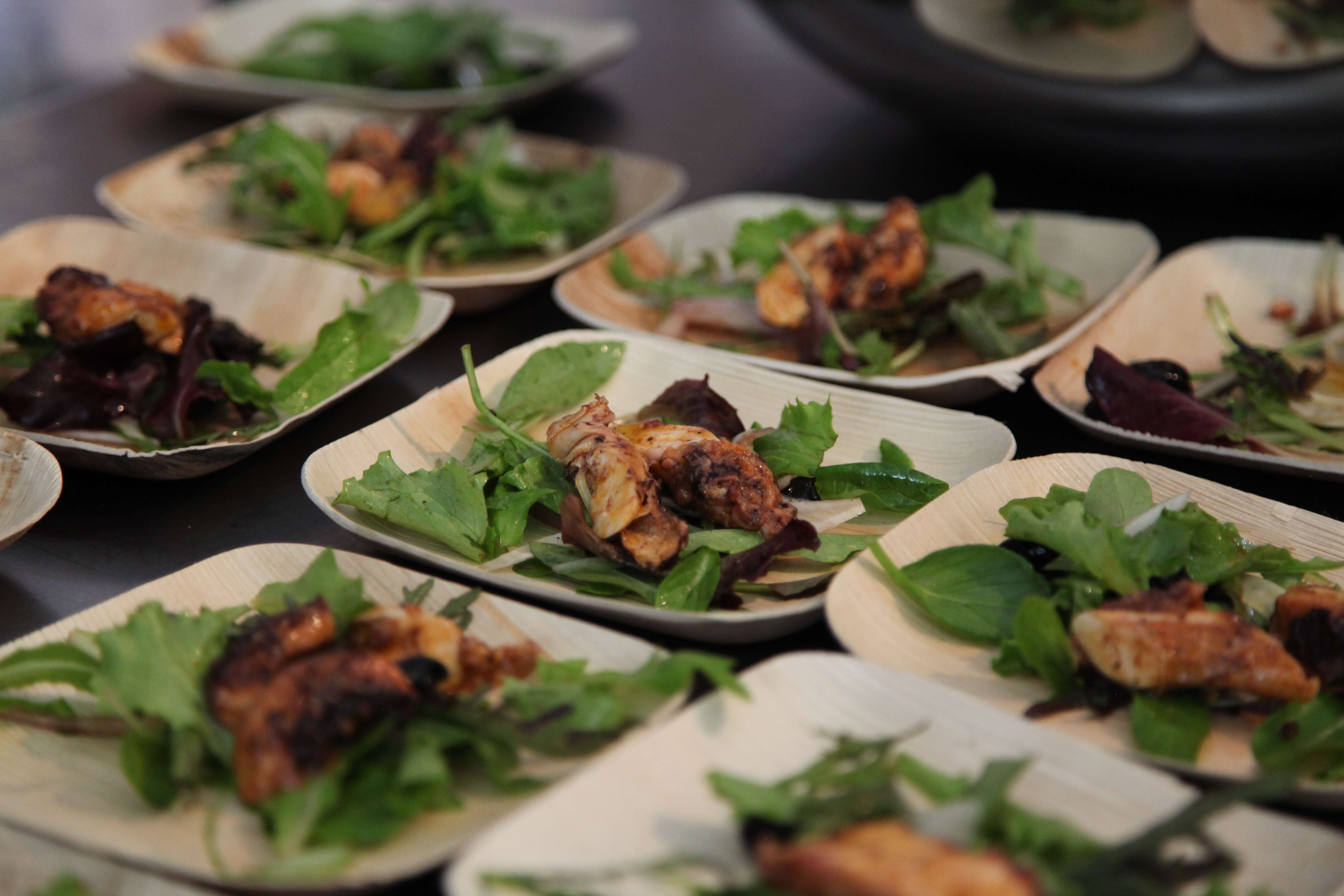 Best New Chef Dish: Grilled Octopus Salad