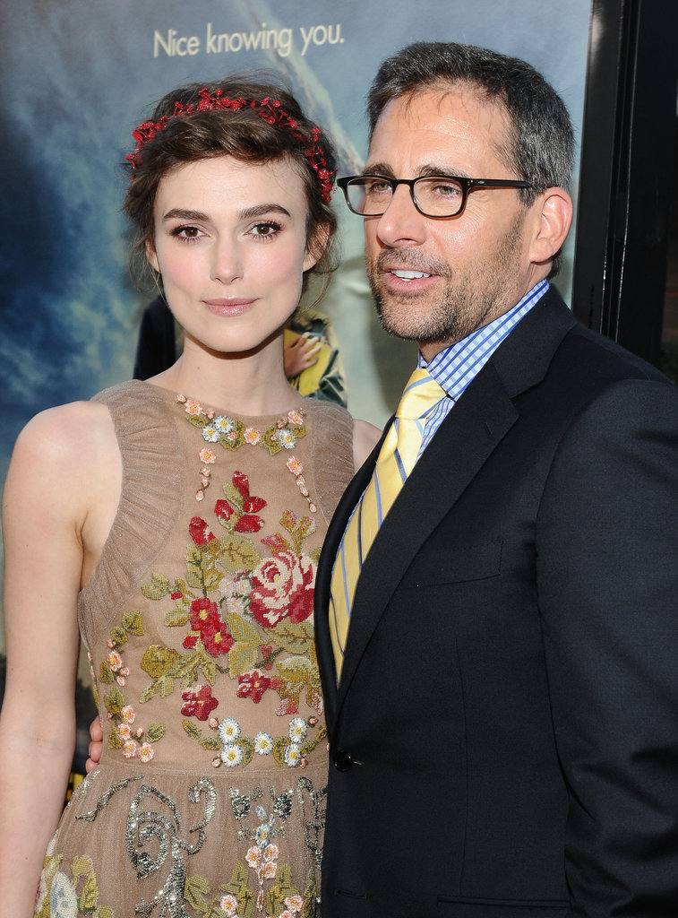 Keira Knightley and Steve Carell linked up at the LA premiere of Seeking a Friend For the End of the World.
