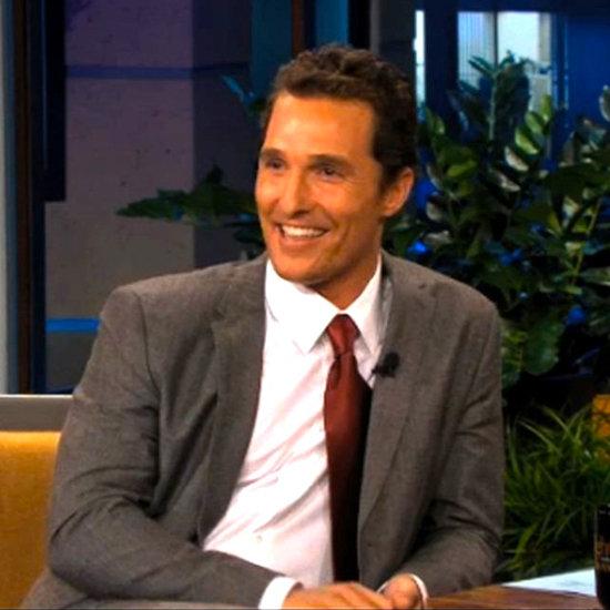 Matthew McConaughey on Wedding to Camila Alves (Video)