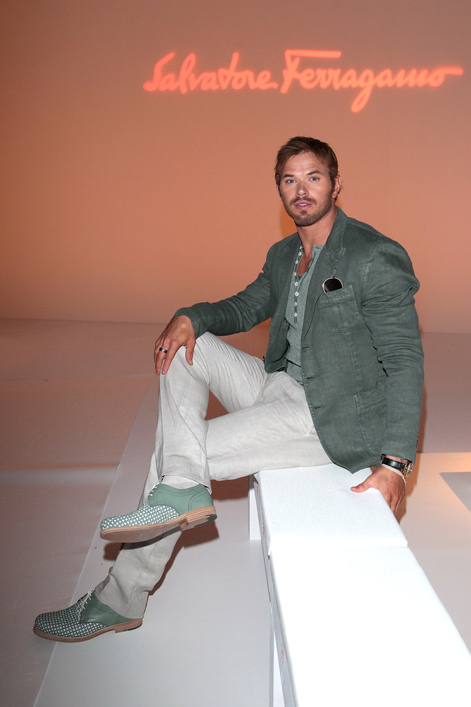 Kellan Lutz at Salvatore Ferragmo