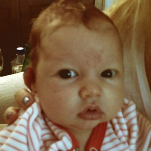 Jessica Simpson Tweets Picture of Baby Maxwell Johnson