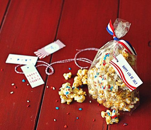 Make This: Patriotic Caramel Corn