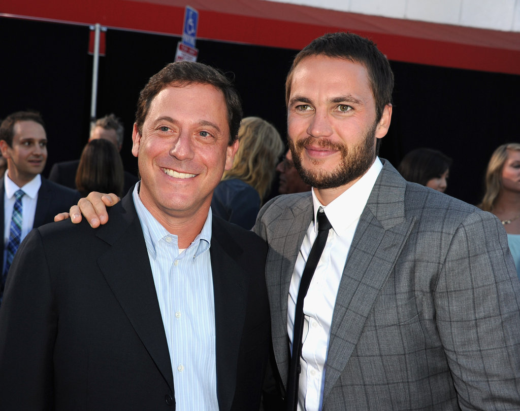 Adam Fogelson and Taylor Kitsch