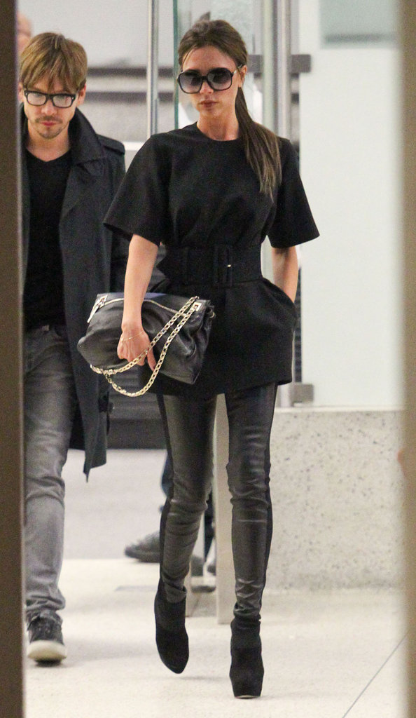 Victoria Beckham Wraps Her Spice Girls Duties and Heads Home