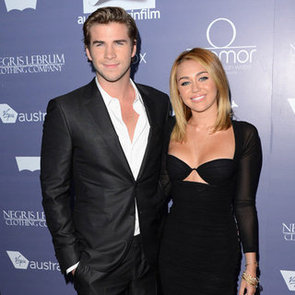 Liam Hemsworth and Sexy Miley Cyrus Engagement Ring Pictures at 2012 Australians in Film Awards