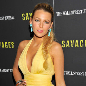 Savages NYC Premiere Celebrity Pictures: Blake Lively, Taylor Kitsch, John Travolta, Oliver Stone