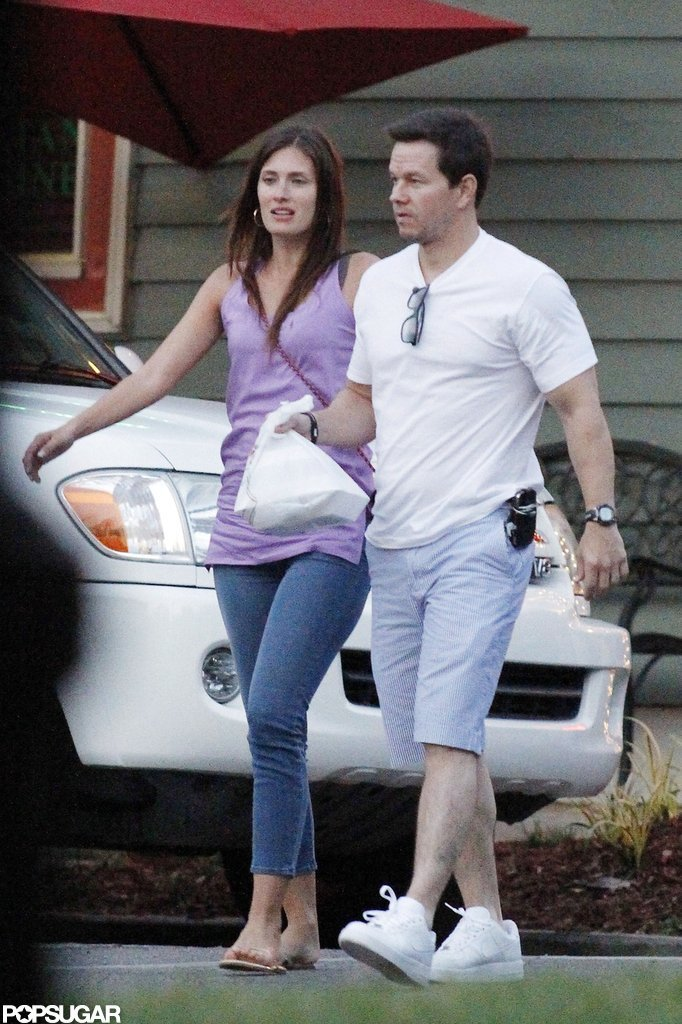 Mark Wahlberg and Rhea Durham took a walk together after a dinner date in New Orleans.