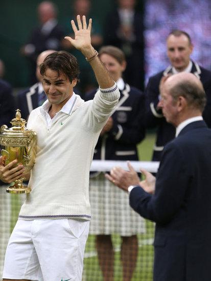 Roger Federer Wins Seventh Wimbledon Title!!!