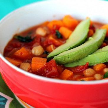 Vegan Tomato and Chickpea Soup Recipe