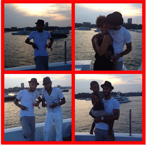 Swizz Beatz shared this photo of himself and Alicia Keys.  Source: Instagram user therealswizzz