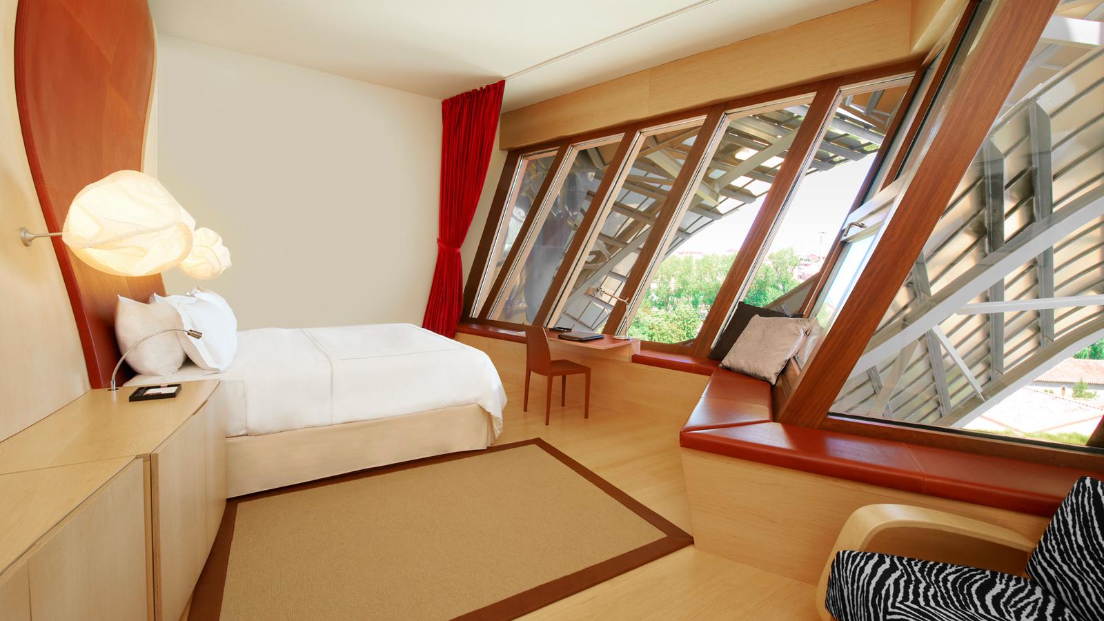 Hotel marques de riscal elciego spain around the for International decor spain