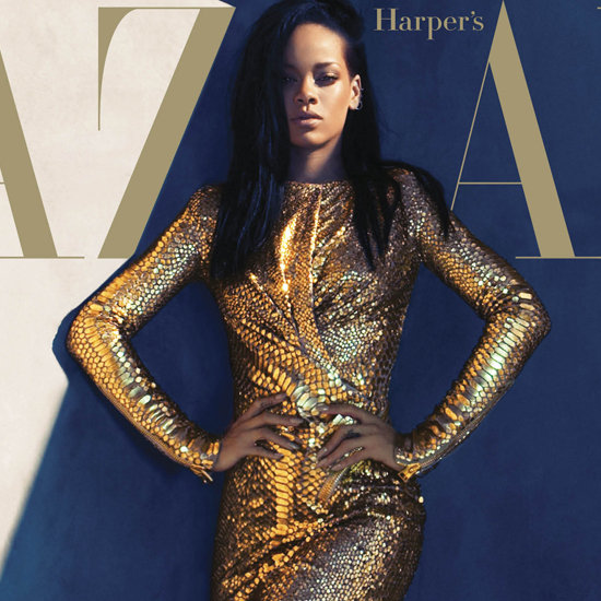 Rihanna's Harper's Bazaar Cover August 2012