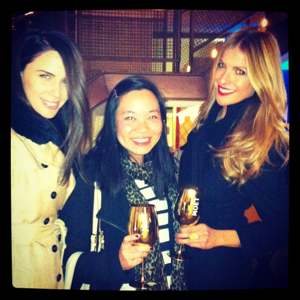 Jess caught up with Jodi Gordon and Laura Csortan at the Vogue and Moët and Chandon screening.
