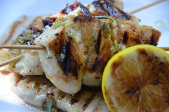 Grilled Meyer Lemon Chicken