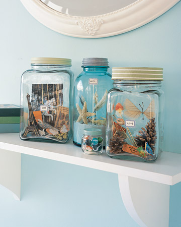 For Beating the Postvacation Blues: Memory Jars