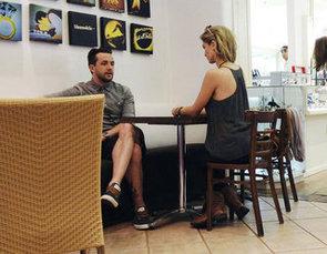 Delta Goodrem and Darren McMullen Dine Together in Los Angeles