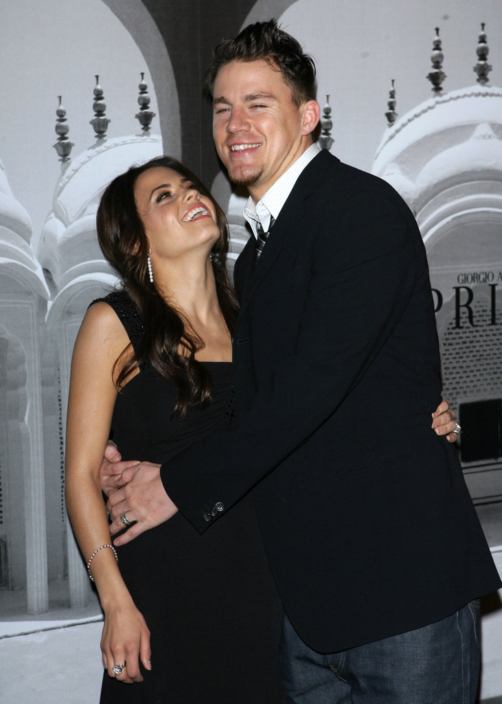 Jenna couldn't take her eyes off of Channing at a February 2007 event in LA.