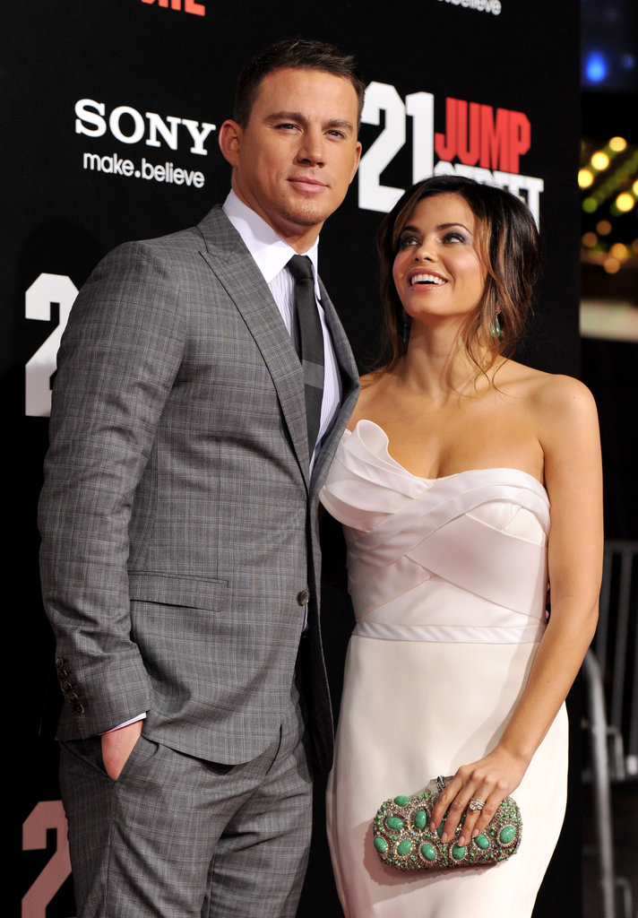 Jenna showed love for Channing at the March 2012 premiere of 21 Jump Street in LA.