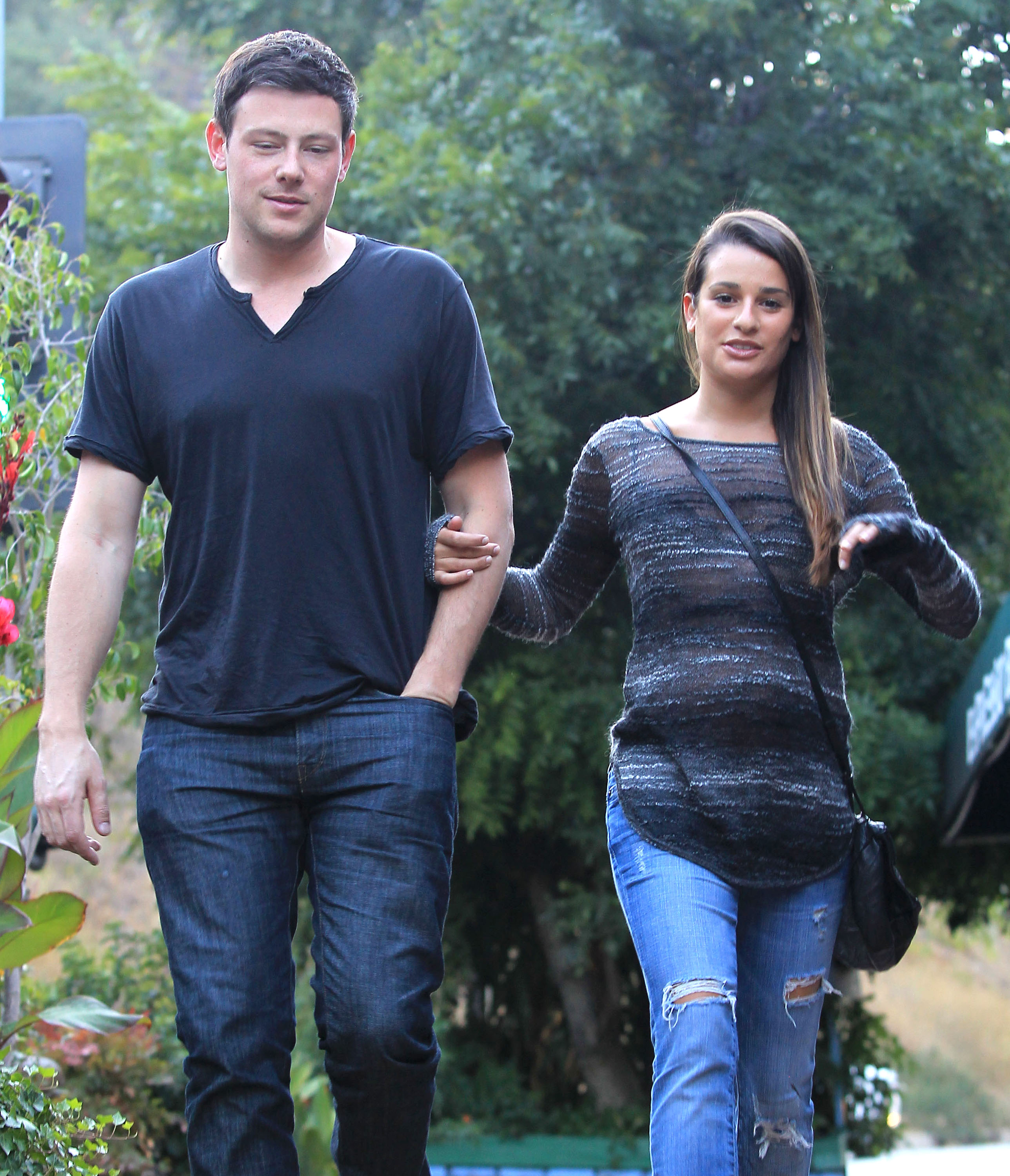 Cory Monteith and Lea Michele dated.