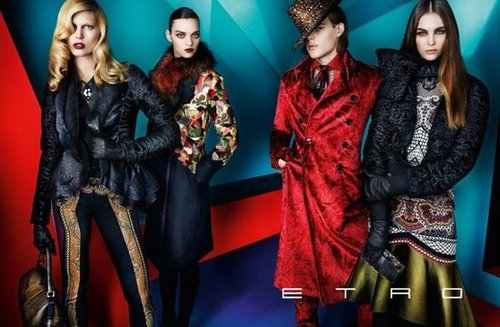 Etro never fails to impress with its saturated palettes and addictive prints.