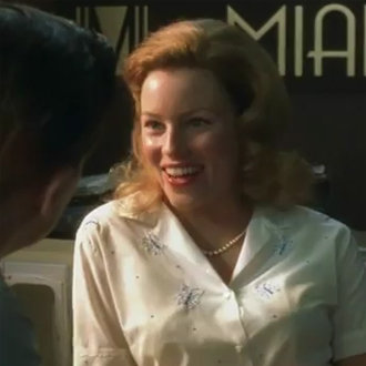 Elizabeth Banks in Catch Me If You Can