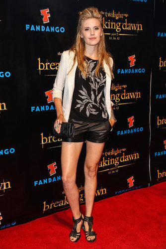 Maggie Grace posed at the Breaking Dawn Part 2 party at Comic-Con.