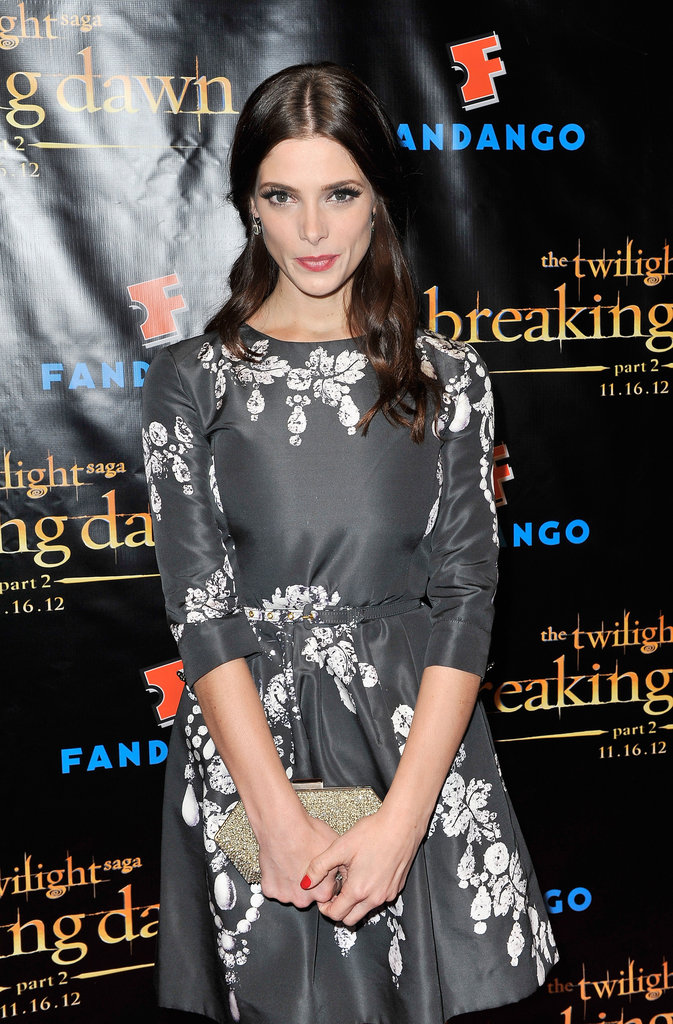 Ashley Green was in attendance at the Breaking Dawn Part 2 party at Comic-Con.